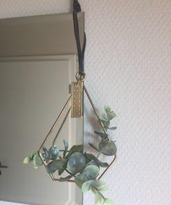 Triangeldeko gold Eukalyptus skandinavisch 1